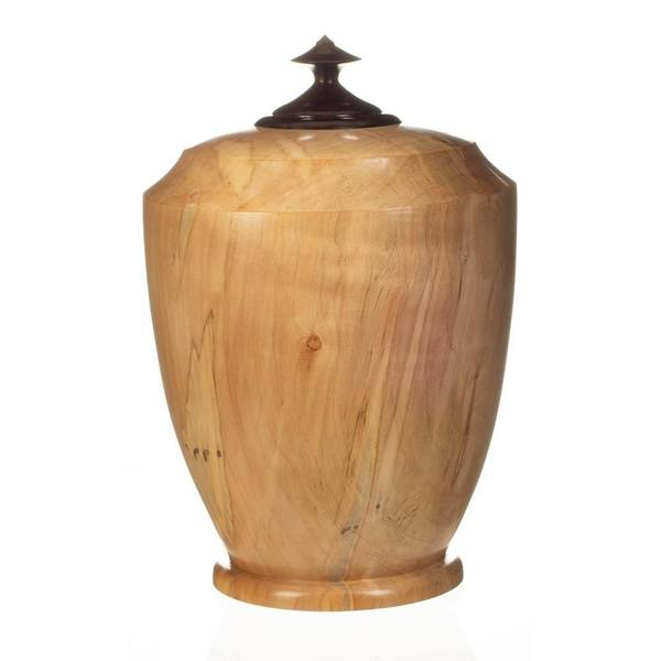 Aditya Wood Cremation Urn