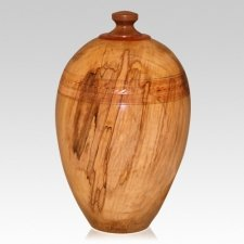 Adventure Wood Pet Cremation Urn