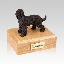 Afghan Hound Bronze Medium Dog Urn