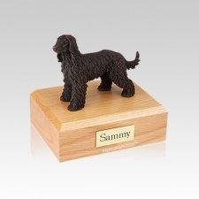 Afghan Hound Bronze Small Dog Urn