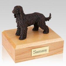Afghan Hound Bronze X Large Dog Urn