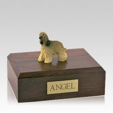 Afghan Hound Long Hair Large Dog Urn
