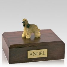 Afghan Hound Long Hair X Large Dog Urn
