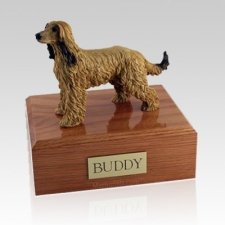 Afghan Hound X Large Dog Urn