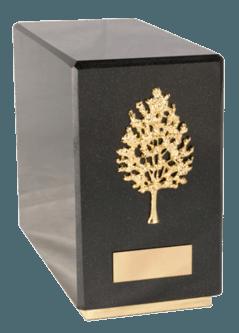 Agra Nero Cremation Urn