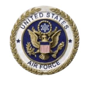 Air Force Cast Medallion Appliques