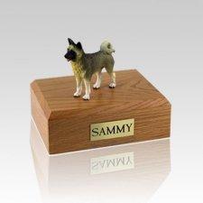 Akita Gray Large Dog Urn