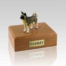 Akita Gray X Large Dog Urn
