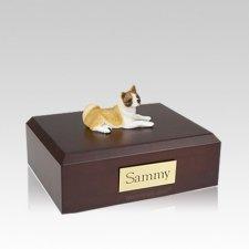 Akita Laying Medium Dog Urn
