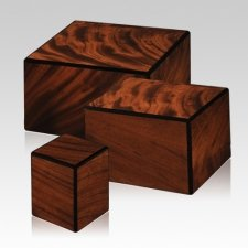 Alcazar Wood Cremation Urns