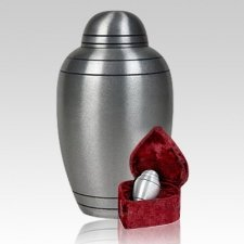 Brushed Alloy Classic Cremation Urns