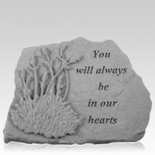 Always Lavender Memorial Stone