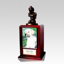 Always My Doggy Walnut Large Cremation Urn