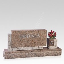 Always Near Companion Granite Headstone