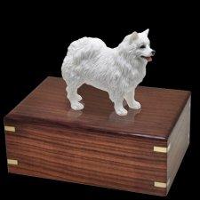 American Eskimo Doggy Urns