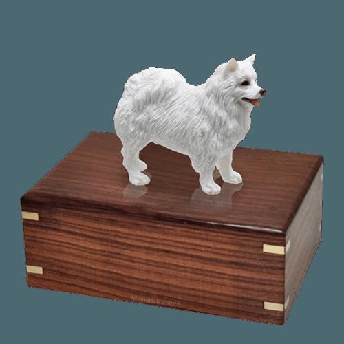 American Eskimo Large Doggy Urn