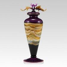 Amethyst Strata Art Cremation Urn