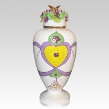 Amethyst Wish Cremation Urn
