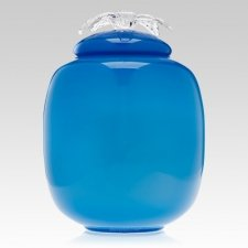 Amity Glass Cremation Urn