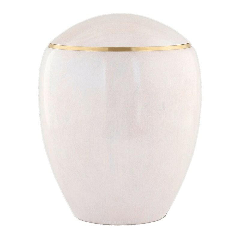 Ammil Pearl Wood Cremation Urn