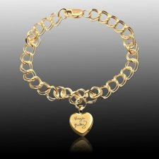 Amour Cremation Charm Bracelet II