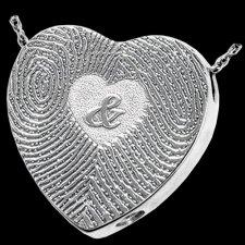 Ampersand Silver Cremation Print Keepsake