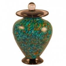 Anemone Glass Pet Cremation Urn