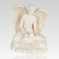 Angel & Child Keepsake Cremation Urn
