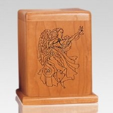 Angel Cherry Keepsake Cremation Urn