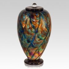 Angel Dance Glass Cremation Urn