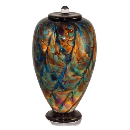 Angel Dance Glass Cremation Urn