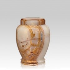 Angel Green Onyx Medium Cremation Urn