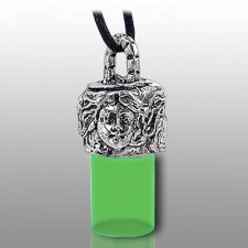 Angel Pet Green Remembrance Necklace