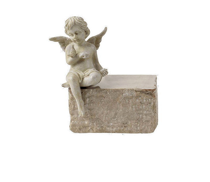 Child with Butterfly Cremation Urn