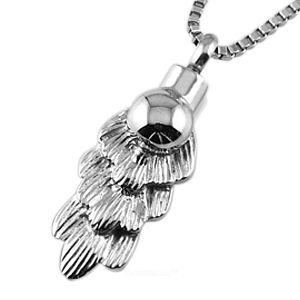 Angel Feather Cremation Jewelry