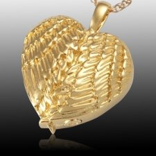 Angelic Heart Cremation Pendant IV