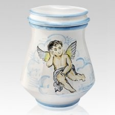 Angelical Ceramic Cremation Urn