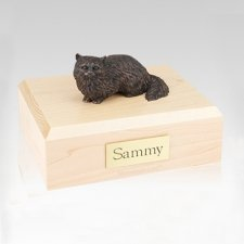 Angora Bronze Large Cat Cremation Urn