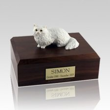 Angora Large Cat Cremation Urn