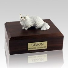 Angora X Large Cat Cremation Urn