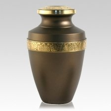 Antique Gold Keepsake Urn