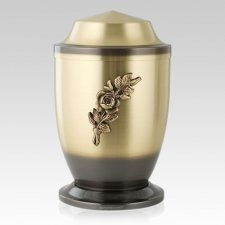 Antique Rose Companion Cremation Urn