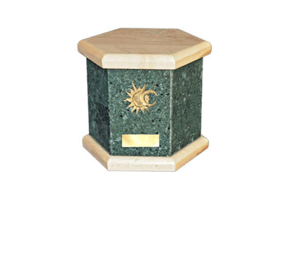 Antonio Green Cremation Urn