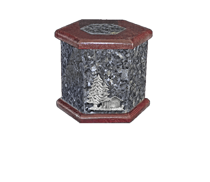 Antonio Blue Pearl Cremation Urn