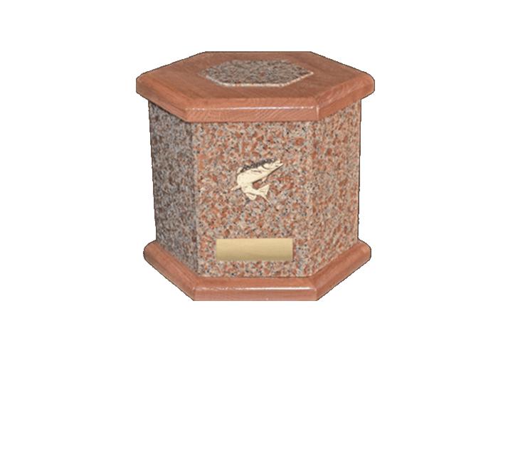 Antonio Vermilion Cremation Urn
