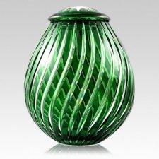 Apollo Glass Cremation Urn