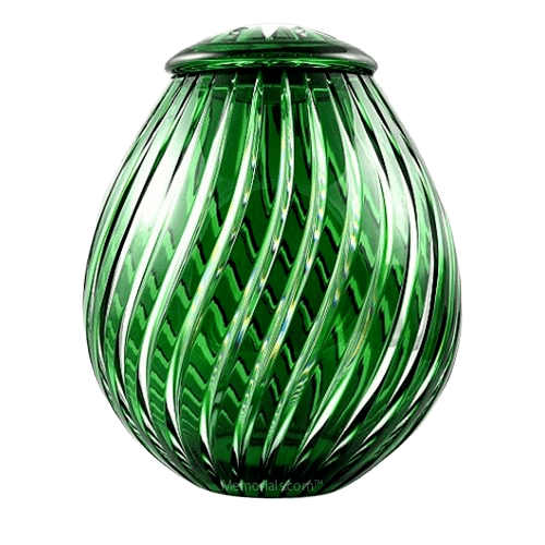 Apollo Glass Cremation Urn
