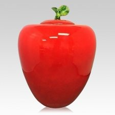 Apple Cremation Urn