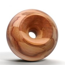 Apple Orb Wood Urns