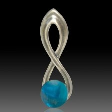 Aqua Eternity Cremation Ash Pendant